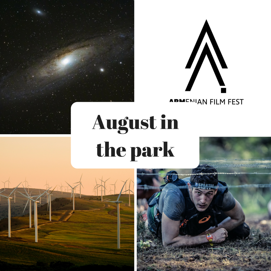 August in the park