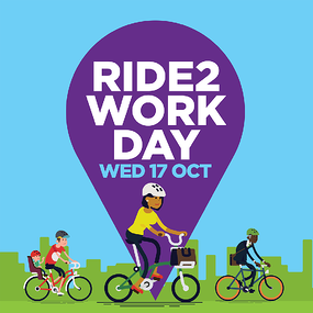 Social media tile square - Ride2Work Day 2018
