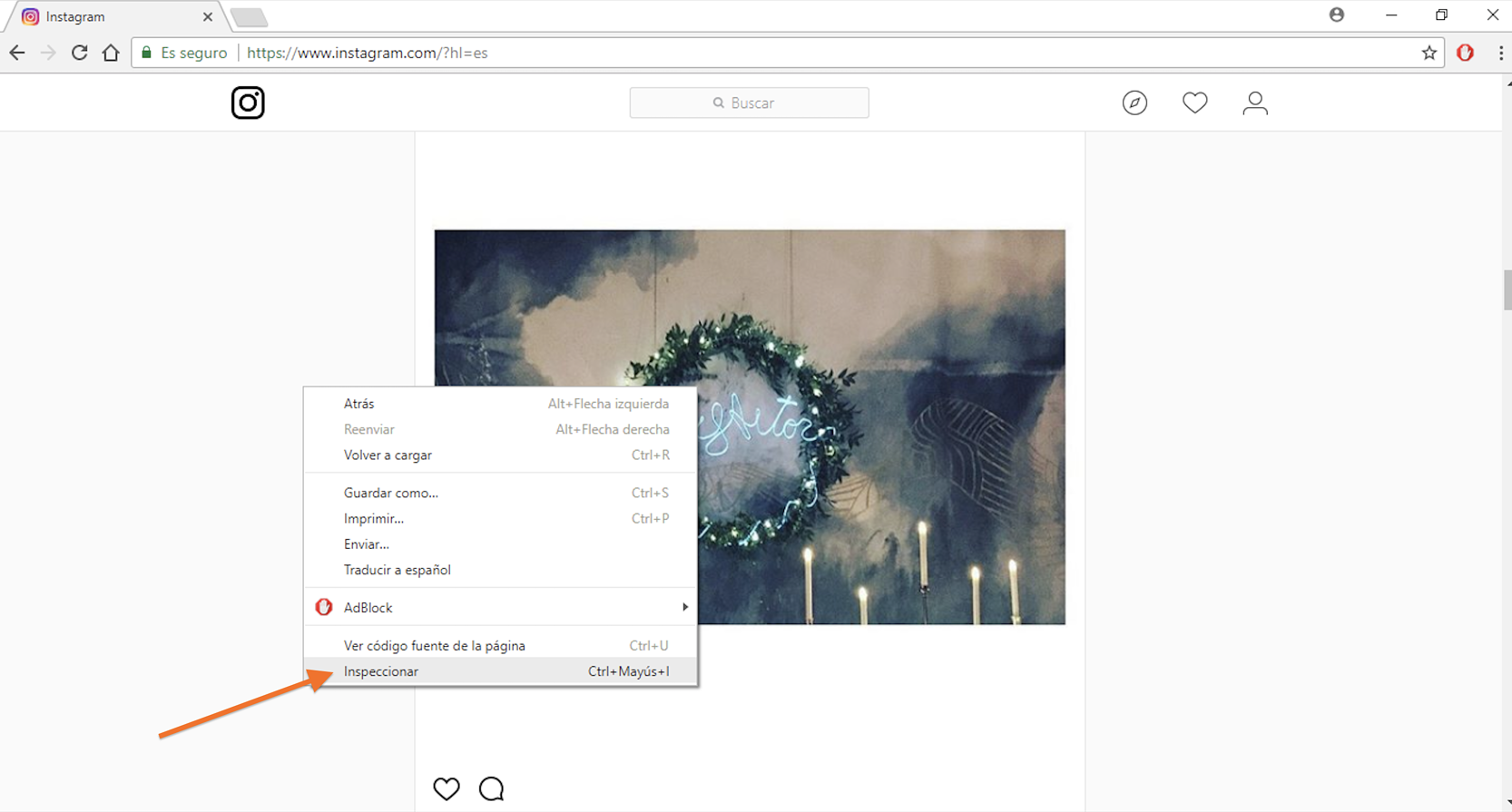 como subir fotos a instagram pc