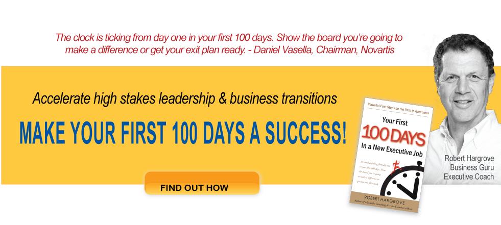 let me help you succeed in your first 100 days