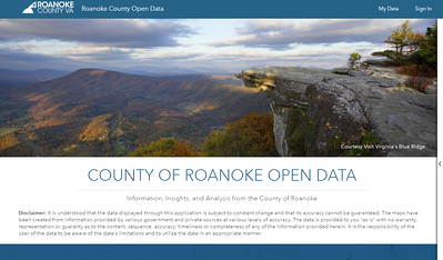 County-of-Roanoke Website