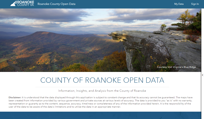 County-of-Roanoke Website