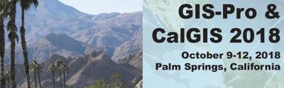 CalGIS & GIS-Pro 2018