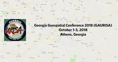 Georgia Geospatial Conference 2018