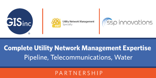 GISinc Partners with SSP Innovations for Complete Utility Network Management