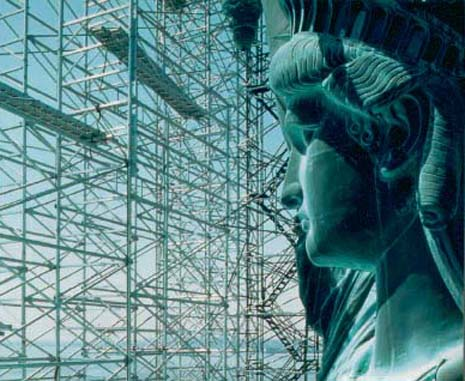 the statue of liberty dynamic icon of america history essay The doors to the new peopling of america center® galleries opened a dynamic lcd panel shows more about the ellis island and the statue of liberty need your.