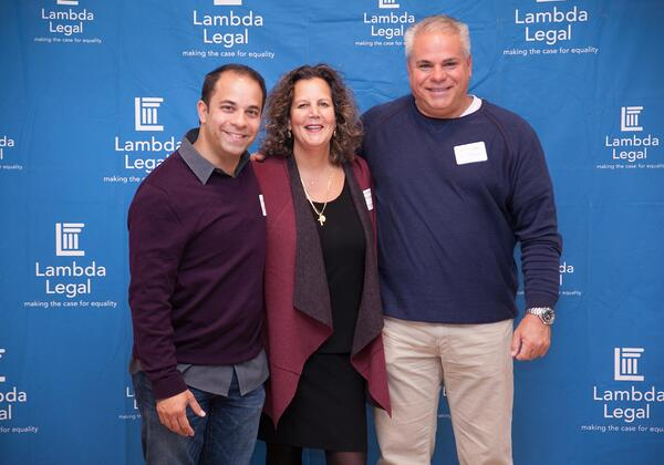 Recognition From Lambda Legal For Work With LGBTQ Families