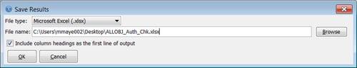iAccess-runSql-SaveAS