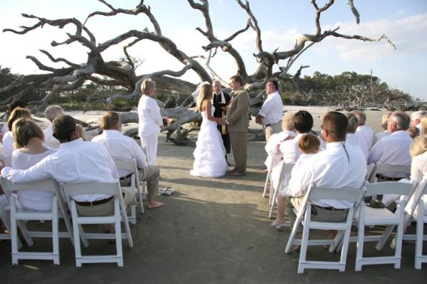 driftwood beach wedding