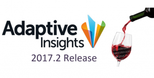 Adaptive Insights 2017.2 Release