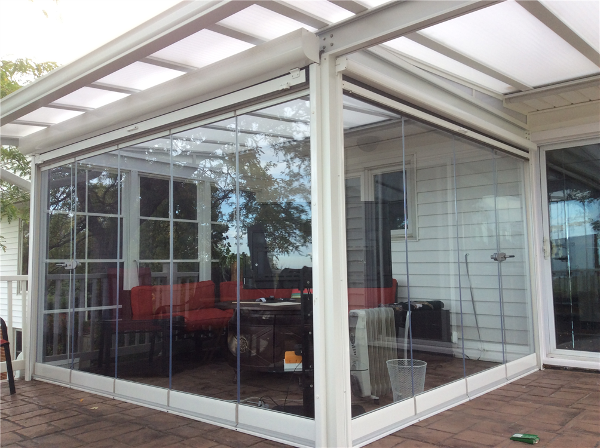 Lumon Panoramic Tempered Glass Patio Enclosure Wickliffe, Ohio. Natural Light Patio Covers