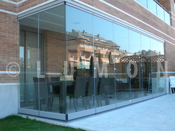 Lumon Panoramic Tempered Glass Patio Enclosure Willoughby Ohio. Natural Light Patio Covers