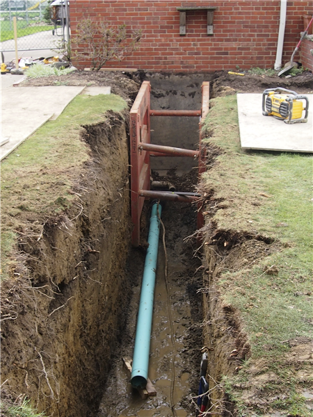 Sewer Work located in Eastlake Ohio