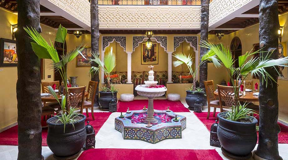 One night in a Moroccan Riad