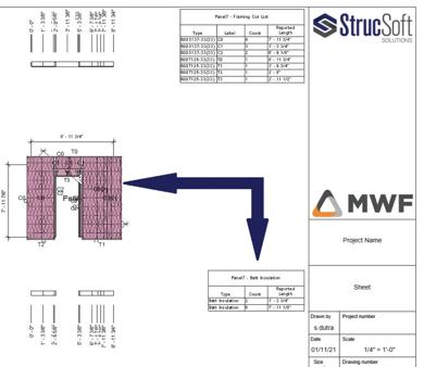 StrucSoft Solutions batt insulation foam tool