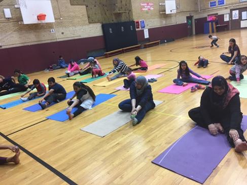 Yoga workshop