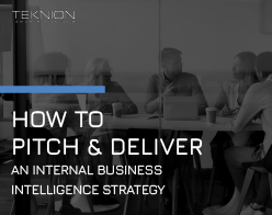 Image of a book for How to Pitch and Deliver an Internal BI Strategy
