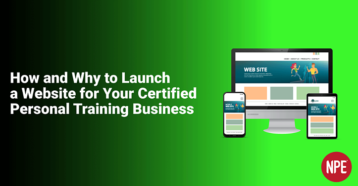 How and Why to Launch a Website for your Personal Training Business