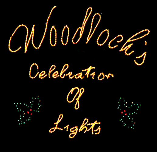 Festival of Lights in the pocono Mountains