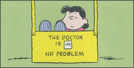 Lucy Doctor is in no Charlie Brown 4 5 12