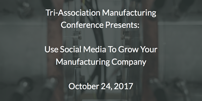 Oct 24 Tri-Association Manufacturing Presentation