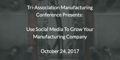 Oct 24 Tri-Association Manufacturing Presentation