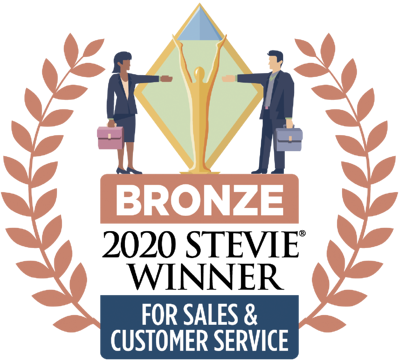 Sales Award 2020: Stevie Bronze for Sales Growth Achievement