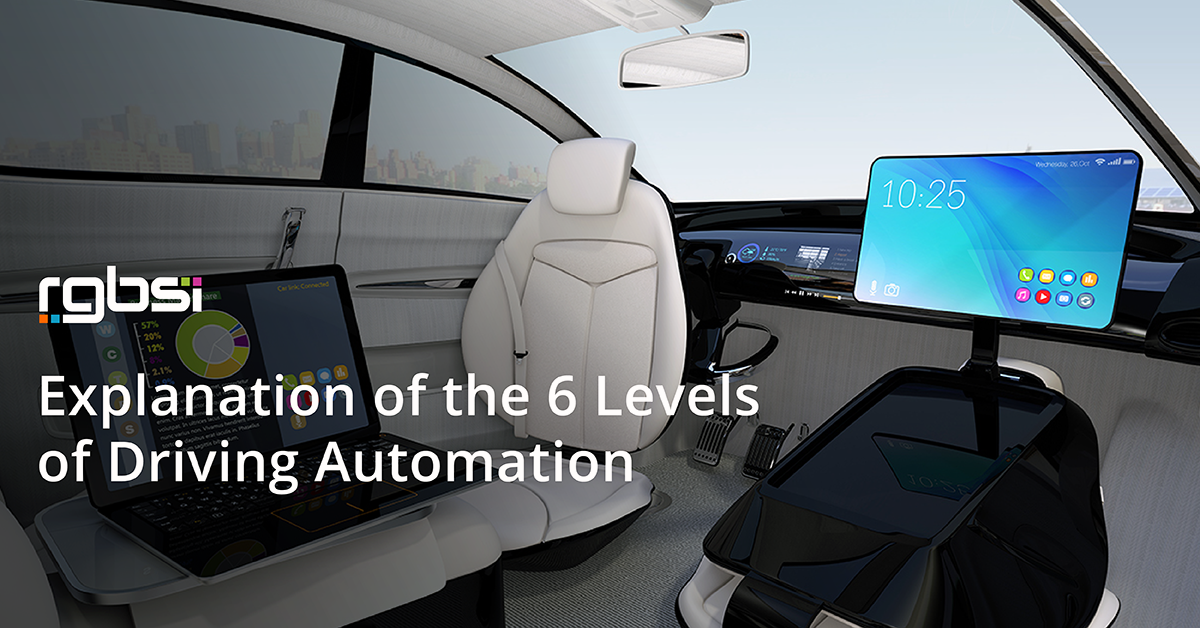 6 Levels of Driving Automation