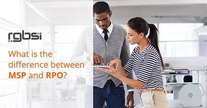 Difference between MSP and RPO