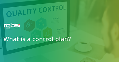What's a control plan?