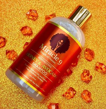 Miracles 9 honey and avocado shampoo female founder