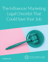 influencer marketing legal checklist