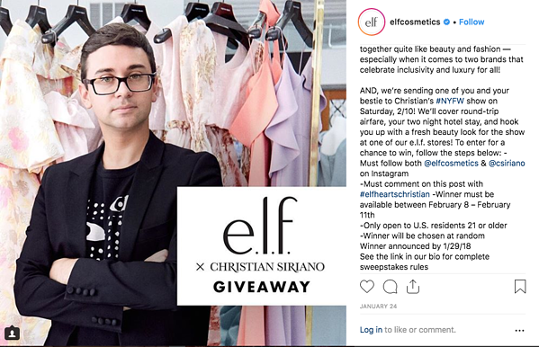 rules of instagram giveaways