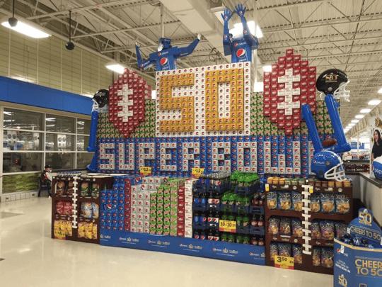 Superbowl Walmart