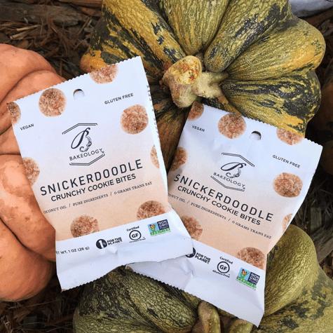bakeology snickerdoodle crunchy cookie bites halloween fall
