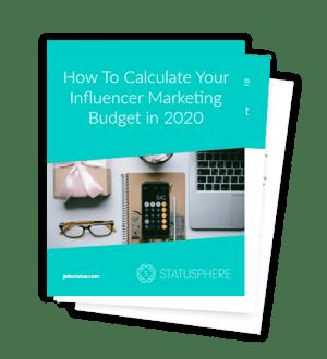 influencer budget 2020