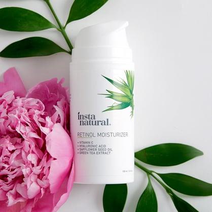 insta natural retinol moisturizer