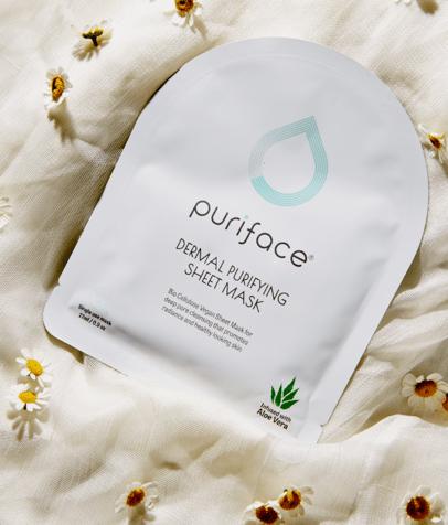 puriface dermal purifying algae korean sheet mask