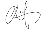Chris Fay Signature