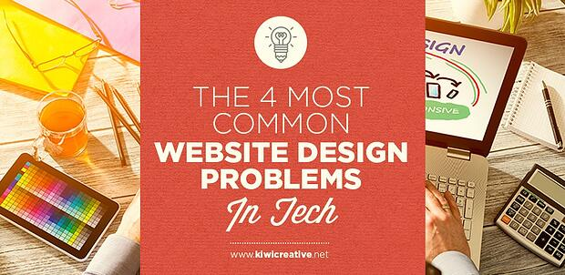 4 most common website design problems in tech