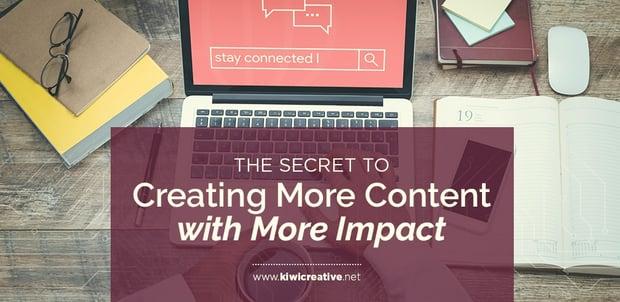 2018-10-12-TheSecrettoCreatingMoreContentWithMoreImpact
