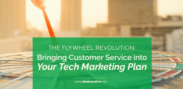 Flywheel revolution: full service B2B tech sales