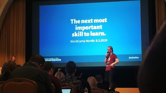 Raportti: WordCamp Nordic 8.3.2019