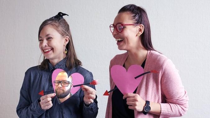 From Unfair with love – Tallin uusimmat tulokkaat ystävänpäivätentissä
