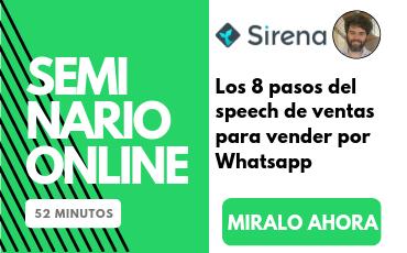 Los 8 pasos del speech de ventas perfecto para vender por Whatsapp