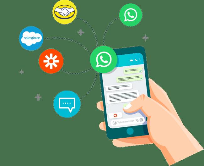 ▷ Contesta instantáneamente a través de WhatsApp con las respuestas automáticas de Sirena