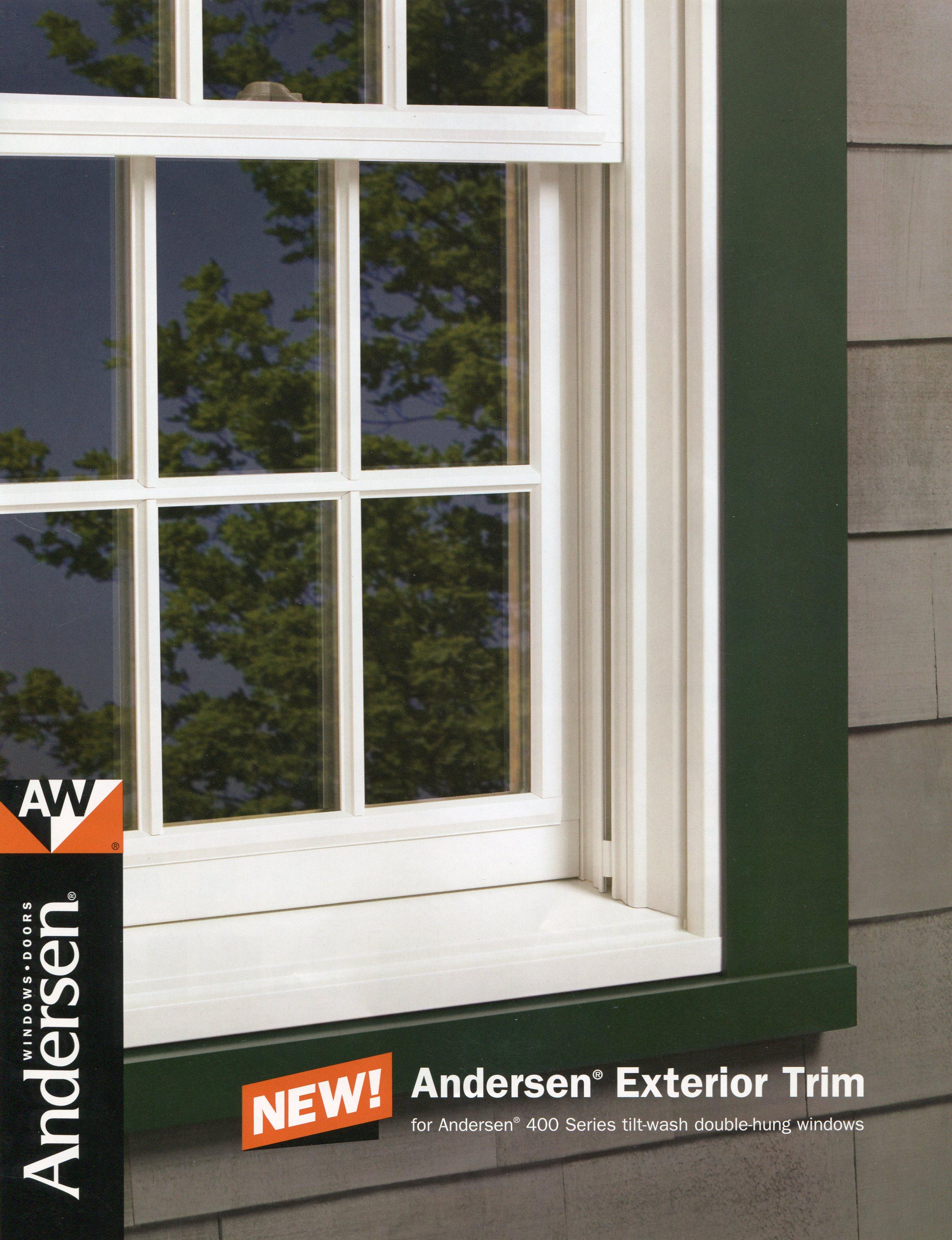 Andersen replacement window in ma exterior trim for Andersen windows u factor