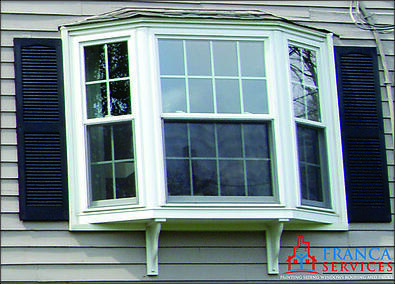 Bay or bow window replacement new construction in ma for Bay window replacement
