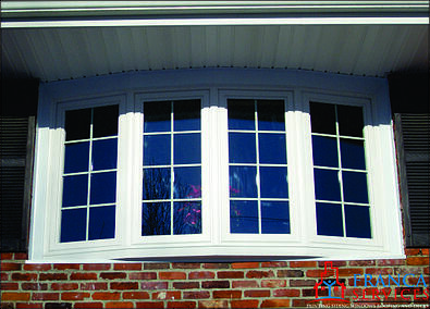 Bay or bow window replacement new construction in ma for New construction wood windows