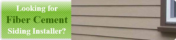 Looking for fiber cement installer